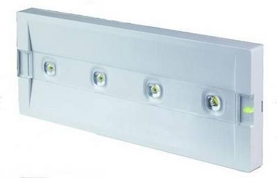 Beghelli ultradunne LED noodverlichting met zelftest - norm CEI EN 60598-2-22