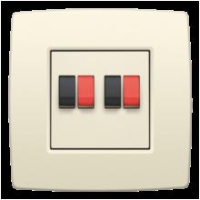 NIKO-AANSL 2xSPRINGCONNECTOR-100-69700