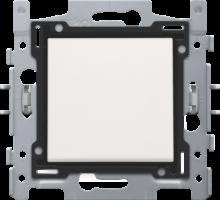 NIKO-SCHAKELAAR TWEEP. WHITE-101-61200