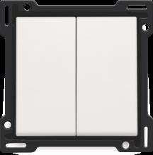 NIKO-2x 1/2 TOETS WHITE-101-61505