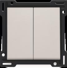 NIKO-2x 1/2 TOETS L.GREY-102-61505
