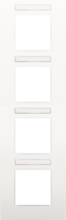 NIKO-AFDEKPL VIERV. 71 WHITE-120-76401