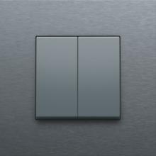 NIKO-2x 1/2 TOETS ALU ST.GREY-220-61505