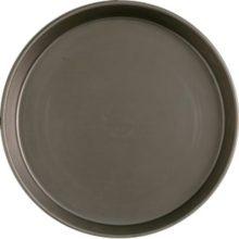 Pizzapan zwart staal 38mm � 35cm-Sans Marque
