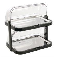 Gekoelde rolltop display dubbel-Sans Marque
