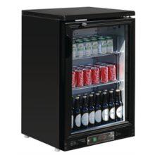 Polar 1-deurs gekoelde bardisplay zwart 104 flessen-Polar