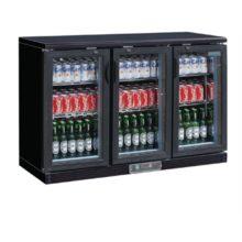 Polar gekoelde bardisplay zwart 273 flessen-Polar
