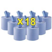 Jantex blauwe centre feed handdoekrollen 2-laags-Jantex