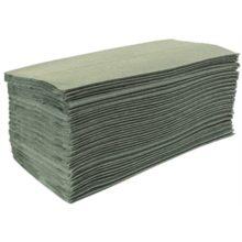 Jantex groen Z-gevouwen handdoeken 1-laags-Jantex