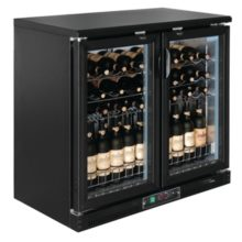 Polar horizontale wijnkoeling met klapdeuren-Polar