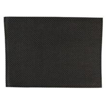 PVC placemat zwart-Sans Marque