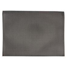 PVC placemat zilver/grijs-Sans Marque