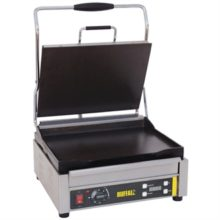 Buffalo grote contact grill enkel glad/glad-Buffalo