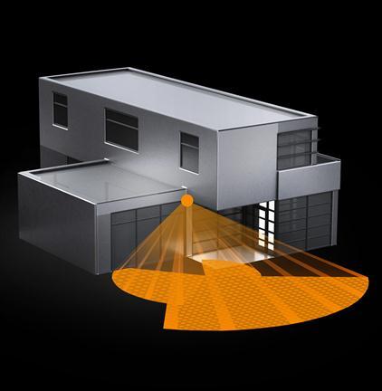 steinel 003951 bewegingsmelder sensiq s zwart 300 graden. Black Bedroom Furniture Sets. Home Design Ideas