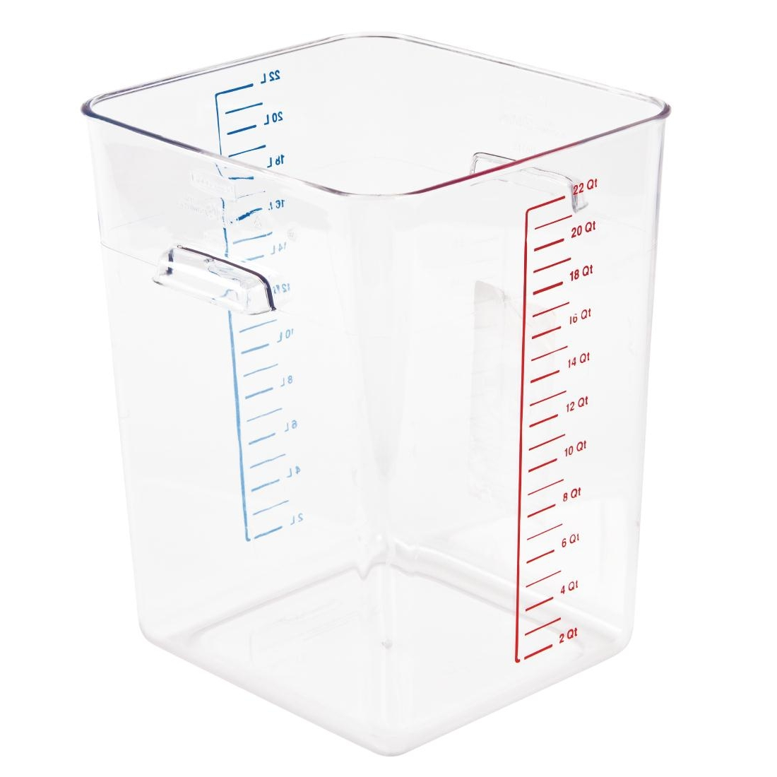 rubbermaid art  j876  rubbermaid polycarbonaat voedseldoos