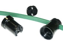 LMVR kabel 2x2,5mm² plat voor prikfitting per meter (max. lengte in 1 stuk = 500m)