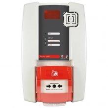 AATR4001: Autonome brandmeldknop die (onbeperkt) draadloos koppelbaar is met andere AATR4001 brandmeldknoppen